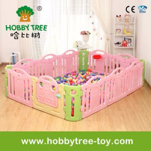 2017 Colorful Ce Certification High Quality Baby Playpen (HBS17065A)