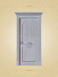 Newest Choco Brown European Style Wood Interior Door pictures & photos