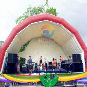 Outdoor Inflatable Air Stage Tent for Music Event pictures & photos