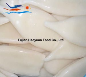 Manufacturing Frozen Seafood Squid Tube pictures & photos
