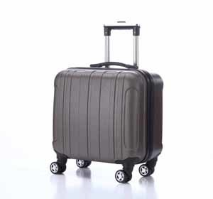 """Trolley Luggage, 16"""" Laptop Luggage, ABS Trolley Bag (XHA032) pictures & photos"""