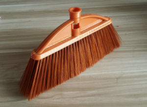 Golden Color Soft Bristle Plastic Broom, Kaa011 pictures & photos