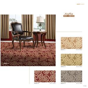 Polypropylene Pattern 1/10 Organic Jacquard Carpet pictures & photos