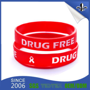 Craft Gift Rubber Band Silicone Wristband for Decoration pictures & photos
