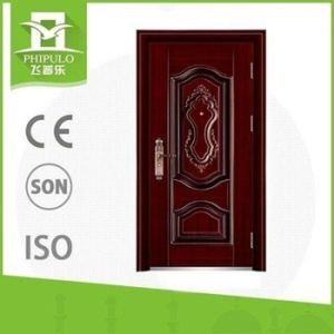 China Supplier Cheap Steel Security Door pictures & photos