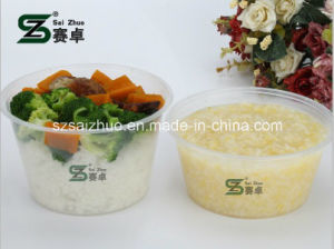 Factory Direct Sale Clear Injection Disposable Plastic Soup Bowl pictures & photos