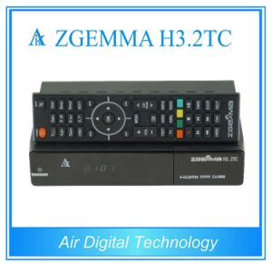 European Multistream Decoder Zgemma H3.2tc Dual Core Linux OS DVB-S2+2*DVB-T2/C Dual Tuners at Factory Price pictures & photos