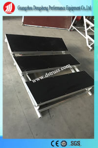 Aluminum Assemble Stage with Guardrail pictures & photos