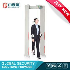 Factory Price Four Infrared Zones Door Fame Metal Detector, Detection Regions Walk Through Metal Detector pictures & photos