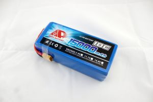 15000mAh 22.2V Lithium Polymer Battery for Crop Sprayer Drone pictures & photos