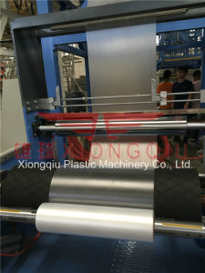 1100mm HDPE Film Blowing Machine with Single Automatic Winder pictures & photos