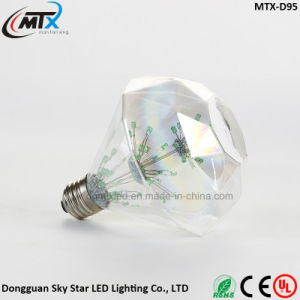 3W Warm White Red Green Blue LED Decorative D95 Bulb pictures & photos