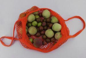 Supermarket Shopping Mall Fruit Packing Cotton Mesh Shopping Bags pictures & photos