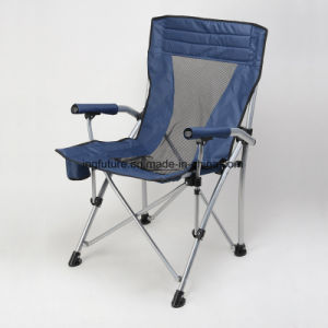 Portable Reinforced Outdoor Leisure Chair with Backrest and Armrest pictures & photos
