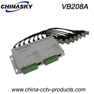 8 Channel Cat5/UTP Passive Video Balun Transceiver (VB208A) pictures & photos