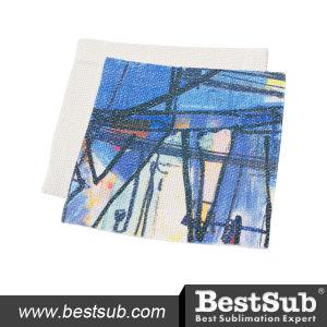 Sublimation Linen Mug Coaster (12.5*12.5cm) (BMWD1212) pictures & photos