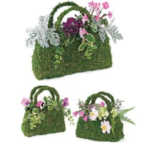 Flower Planter Basket Sphagnum Moss pictures & photos