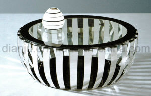Home Furniture Coffee Stainless Steel Special Design Glass Table (CT052L#) pictures & photos