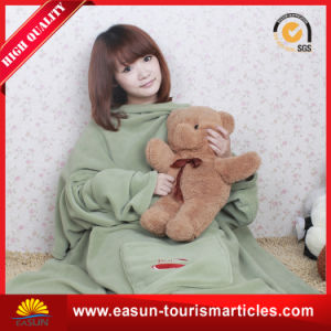 Very Soft Coral Fleece Adults TV Blanket pictures & photos