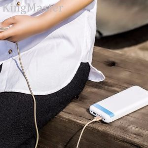 King Master 20000mAh Portable Emergency Power Bank with Cable pictures & photos