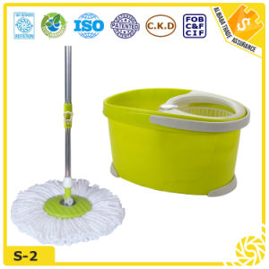 Easy Use 360 Microfiber Spin Mop pictures & photos