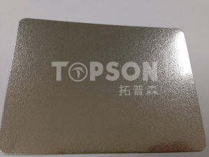 Deep Embossed Stainless Steel Sheet for Elevator/Kitchen/Wall pictures & photos
