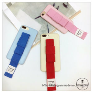 Hand Rope Phone Case with Wrist Band Mobile Cell Phone Case for iPhone8/8plus7/7plus/6s/6splus pictures & photos