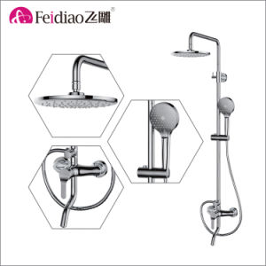Hot Selling Cheap Price Single Handle Rain Shower Faucet (with spout) pictures & photos