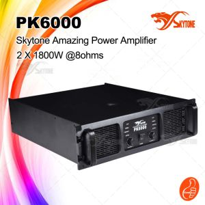 Hot Sale 1800W X 2 Pk6000 High Power Professional Power Amplifier pictures & photos
