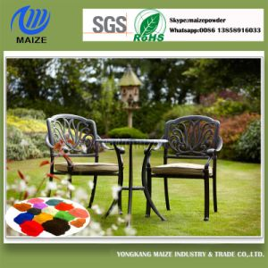 Pure Polyester Powder Coating Used on Metal Table and Chair