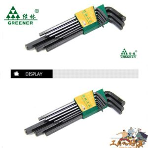 Matt Finish Extra-Long Hex Key Wrench Set pictures & photos