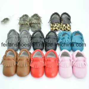 Newest PU Winter Baby Shoes Boy Warm Baby Shoes Infant Shoes (kx715 (18) pictures & photos