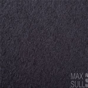 Wool /Polyester Fabric with Good Elasticity for Autumn in Black pictures & photos