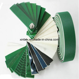 Factory PVC 2.0mm Green Shiny Conveyor Belts pictures & photos