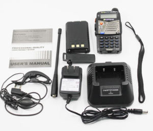Hot VHF/UHF Professional Interphone Two Way Radio Handle Transceiver pictures & photos
