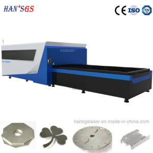 20 Years History Han′s GS Fiber Laser Cutting Machine GS-Lfds3015 with Exchanged Pallet pictures & photos