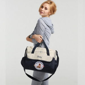 Baby Mummy Bag Ultra Large Multifunctional Waterproof Portable Shoulder Bag Handbag Bag Mom Mom Bulk Wholesale pictures & photos