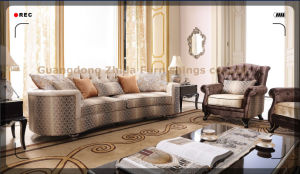 Big Size Living Room Sofa 4 Seat Sofa S6955-1 pictures & photos