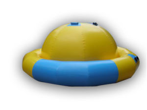 Yellow Inflatable Saturn Rocker Toy for Water Game (CHW121) pictures & photos