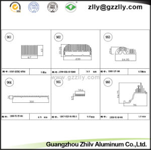2000 Series Building Material Aluminum Heat Sink for Machinery pictures & photos