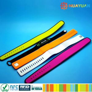 Waterpark Dual Frequency Silicone Hybrid RFID Wristbands Bracelet pictures & photos
