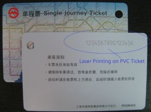 Electric Ticket Personalization Machine pictures & photos