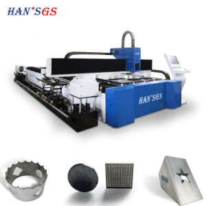 CNC Fiber Laser Metal Tube Cutting Machine for Square/Round Pipe pictures & photos