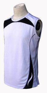 Mens Sleeveless Bamboo Charcoal T-Shirt (SHIRT ST9003)