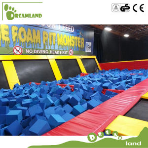 Polyurethane Material Kids Trampoline Structural Foam Pit Blocks pictures & photos