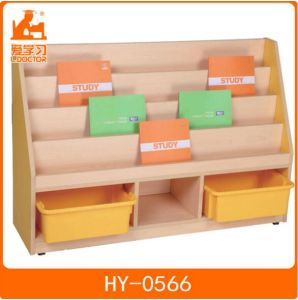 Wooden Kids Furniture/Children Reading Room Storage Shelf pictures & photos