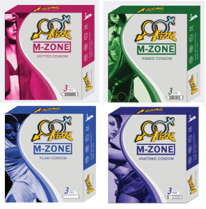 Male Latex Condom of M-Zone Brand pictures & photos