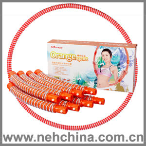 Adjustable Slimming Hula Hoop-Orange (HL-GC02)