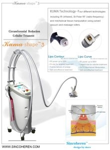 Popular Beauty Device Kuma Shape for Cellulite Weight Loss pictures & photos