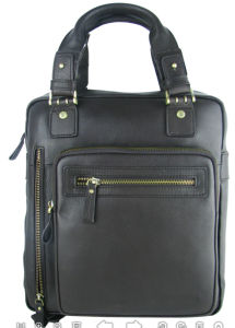 Leather Bag PU Waist Bag Laptop Bag (SM8917) pictures & photos